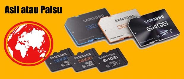 Tahukah Kamu ? Cara Membedakan Memori Eksternal SD Card Asli atau Palsu