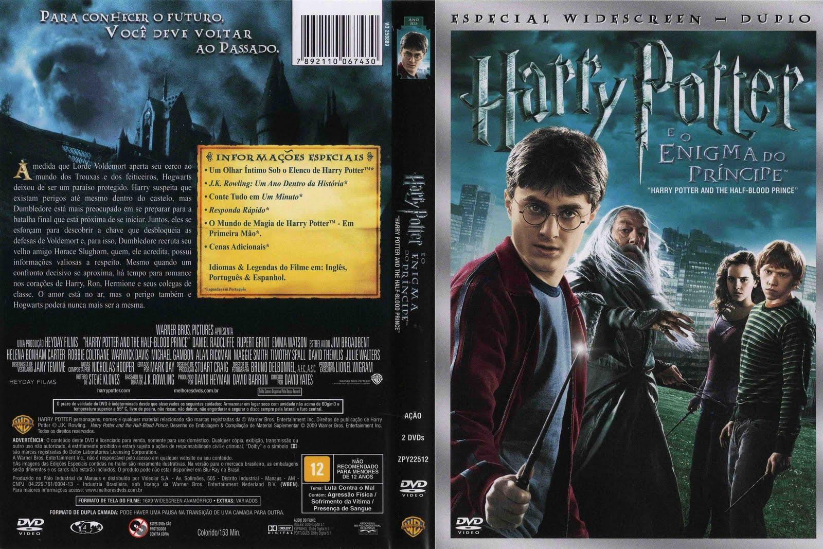 Capas Medina - Somente Capas de DVD: Harry Potter