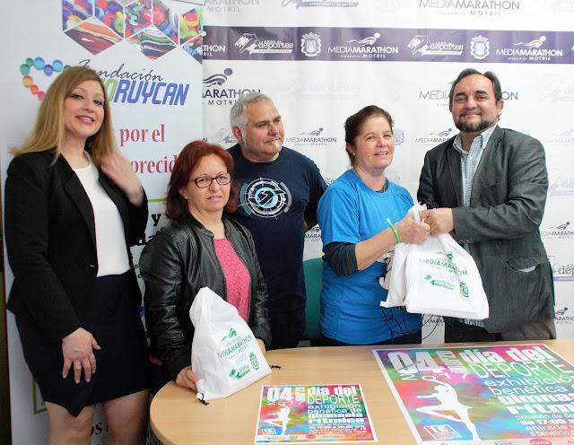 """Fundación Ecoruycan participa en los actos del """"Día del Deporte"""" en Motril"""