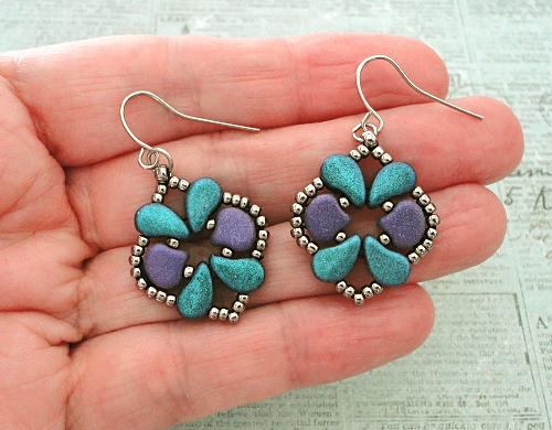 Linda's Crafty Inspirations: Free Beading Patterns - Rosalie