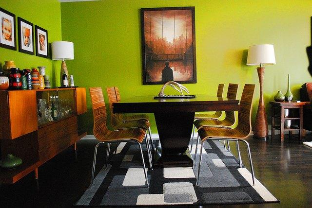 Comedores Retro   Ideas para decorar, diseñar y mejorar tu casa.