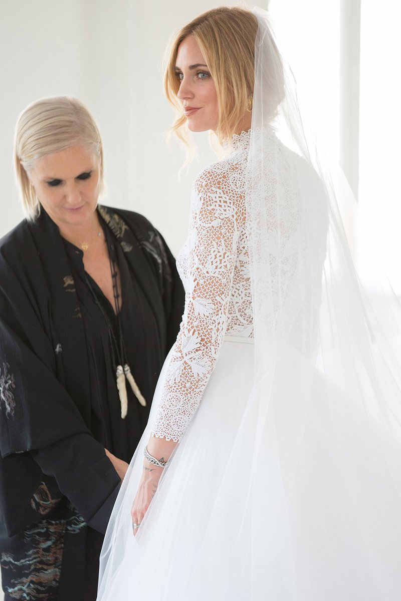 Chiara Ferragni Wedding Photos