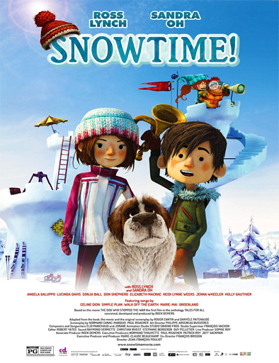 Ver Snowtime! (¡Hora de nieve!) (2015) Online