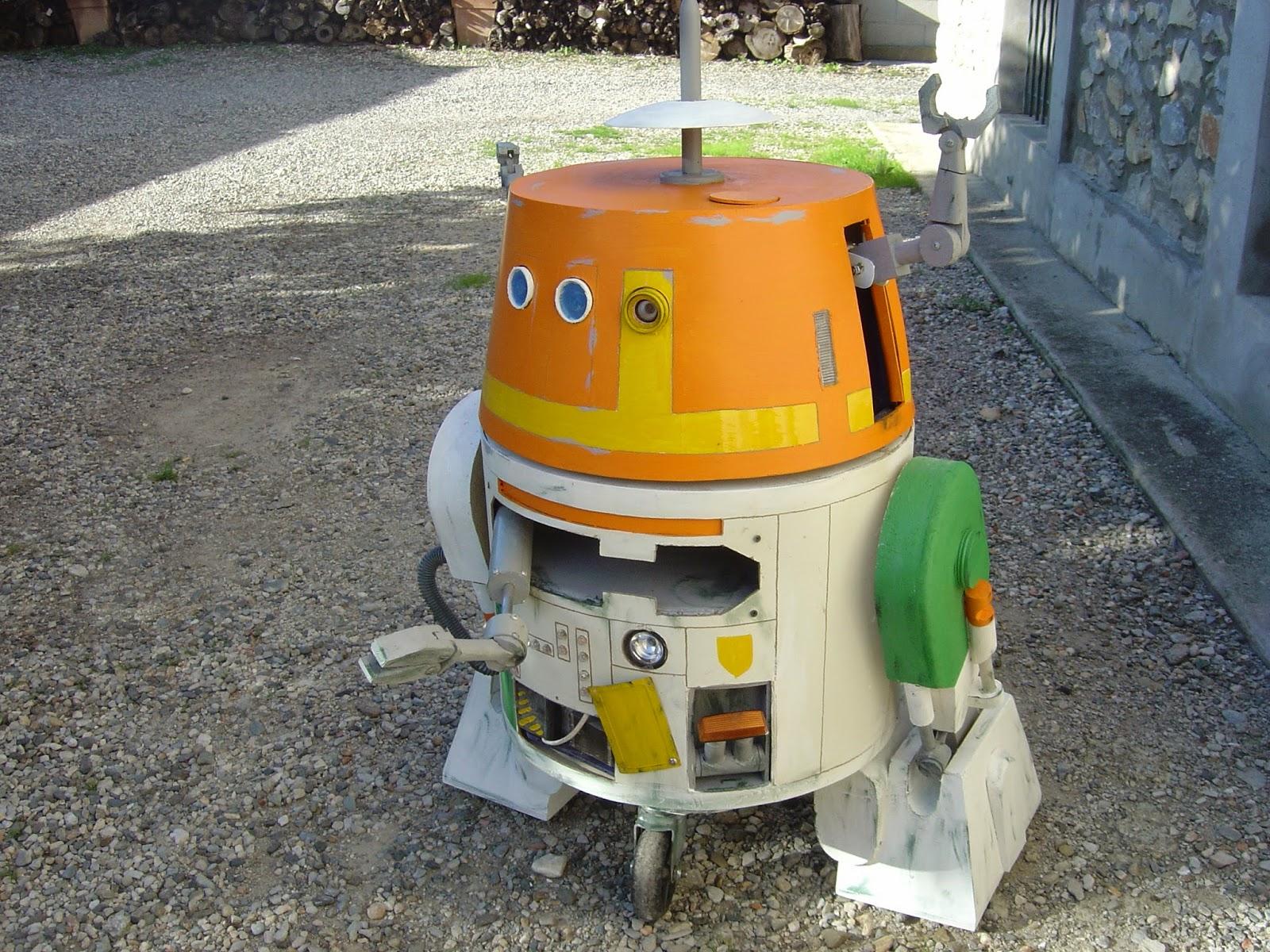 droid mécano C1 10P chopper