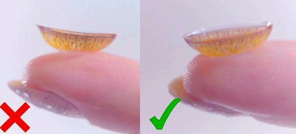 Circle Lenses Correct Placement