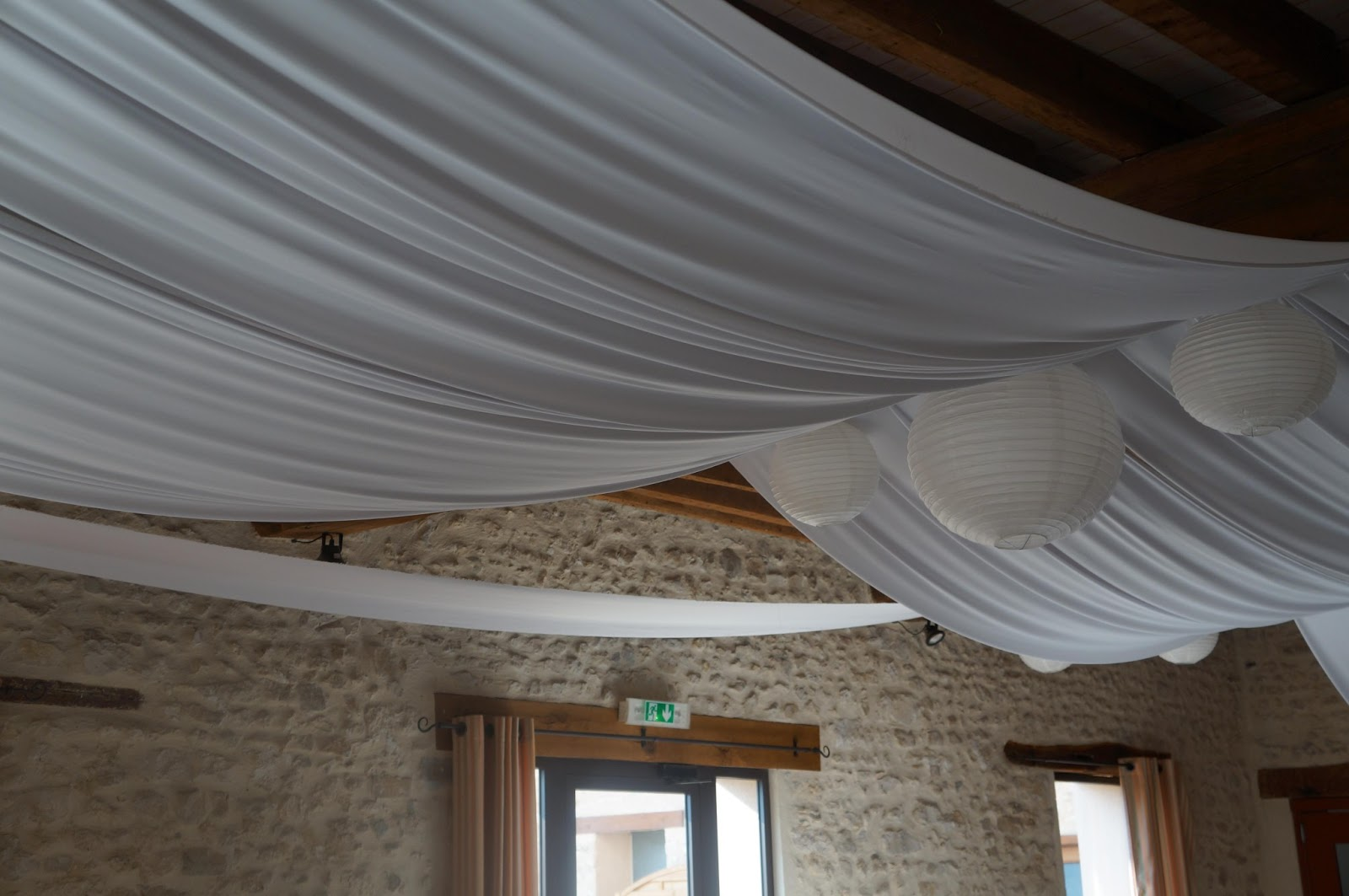 Tentures Mariage Tentures Salles Mariages Tentures Plafond