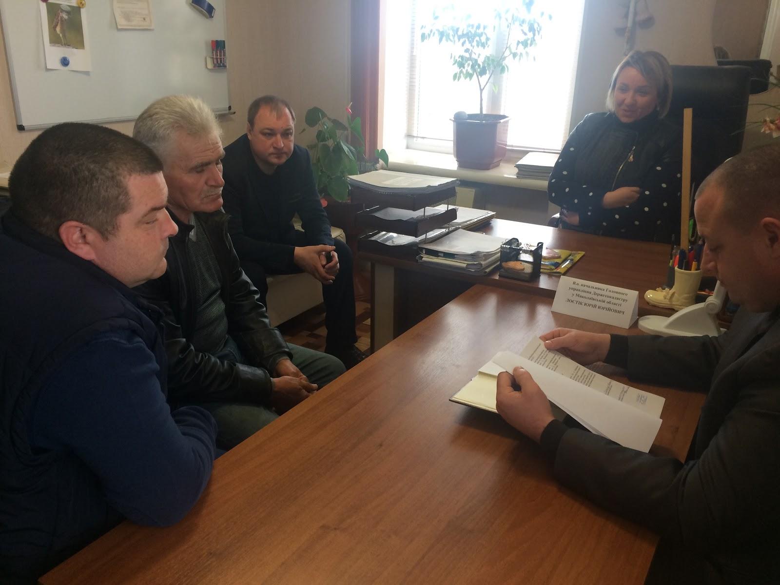 Юрій Лостік провів виїзний прийом громадян у Врадіївському районі