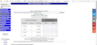 Tools Online Kimia