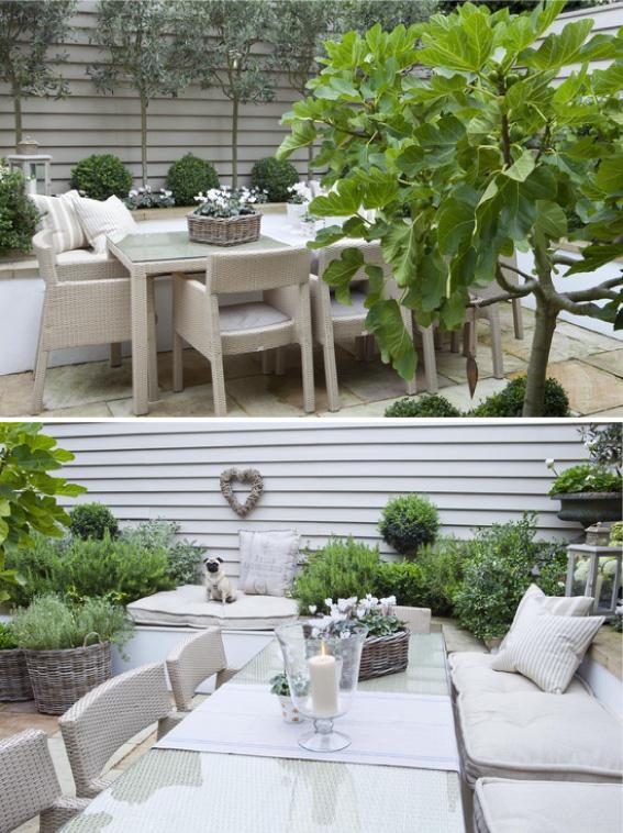 Un giardino dal sapore mediterraneo blog di arredamento e interni dettagli home decor - Candele per esterno ...