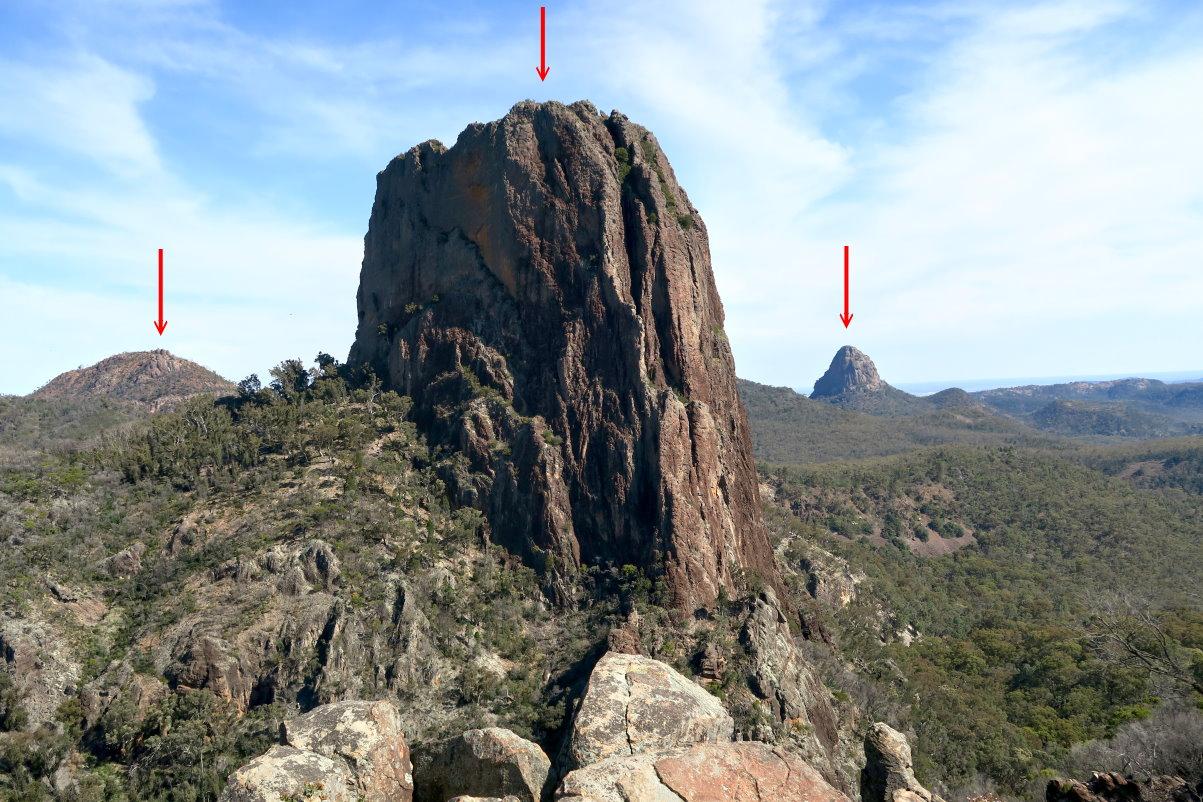 Mountains Grand High Tops Warrumbungle Np Nsw Australia