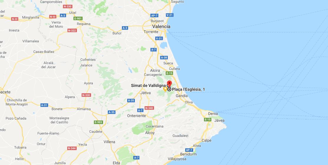 Puerto de Barx, La Safor, Province of Valencia, Spain