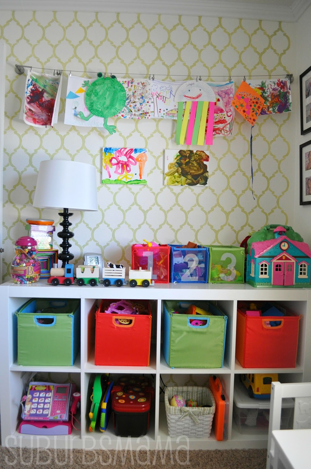 10 Types Of Toy Organizers For Kids Bedrooms And Playrooms: Suburbs Mama: Play Room/Guest Room