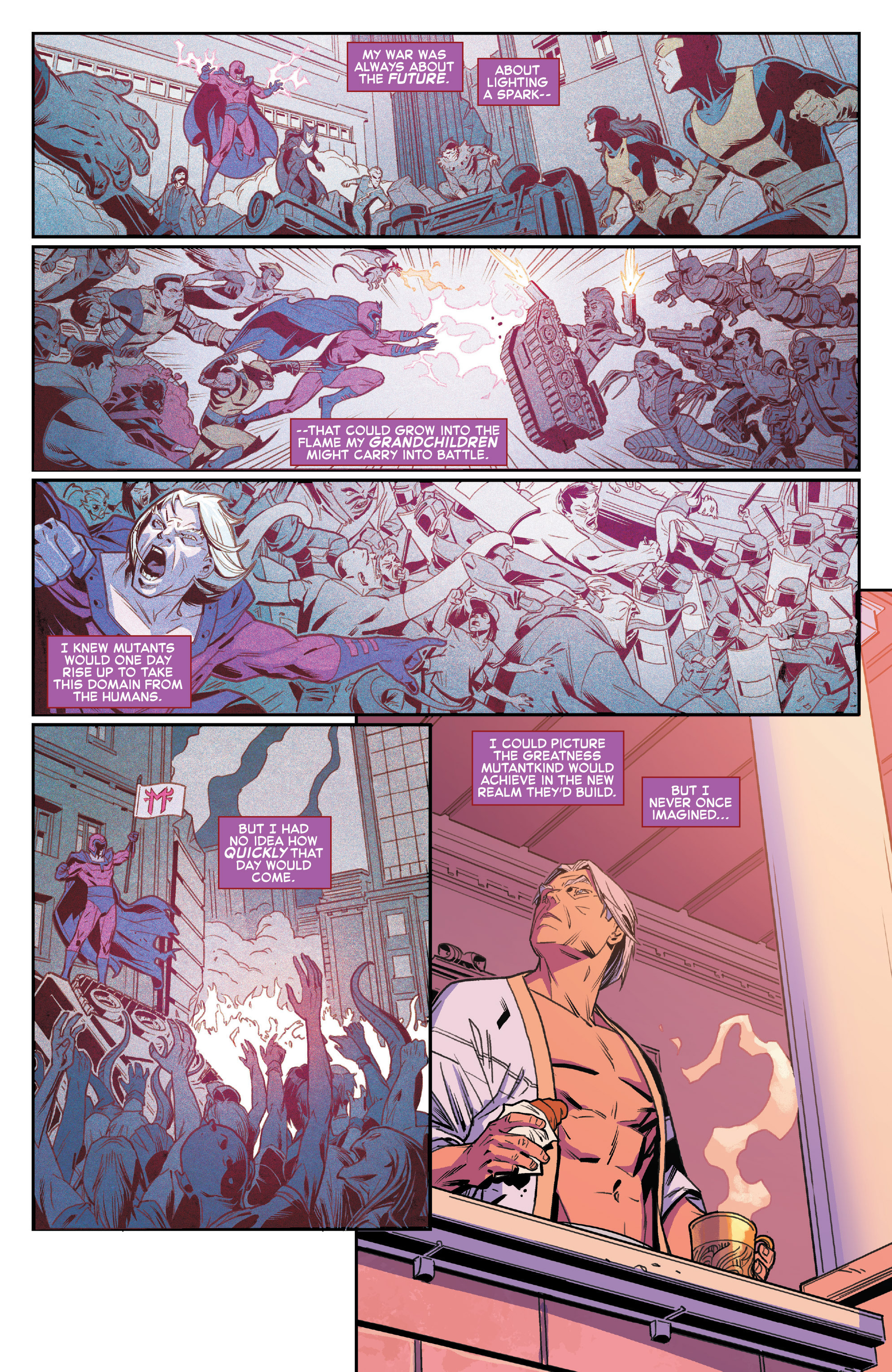 Read online House of M (2015) comic -  Issue #1 - 5