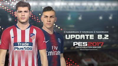 PES 2017 Next Season Patch 2019 Update v8.2 Season 2018/2019