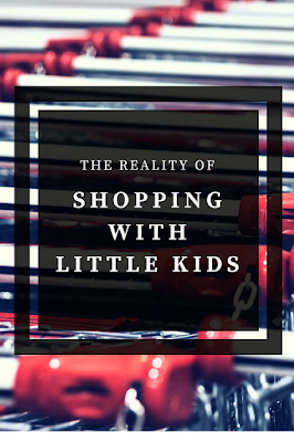 It can be really freaking hard to go shopping with little kids. These aren't so much tips, but more of a commiseration for those times when your children are out of control in a public setting.