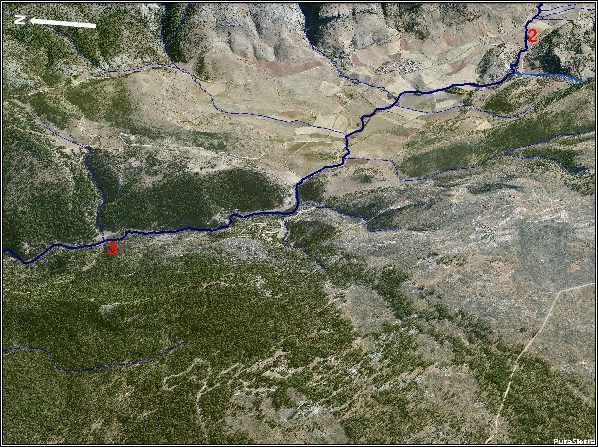 El Río Cuervo a vista de pájaro (imagen 3)
