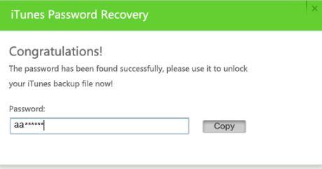 iSeePassword iTunes Passsword Recovery Tool 7