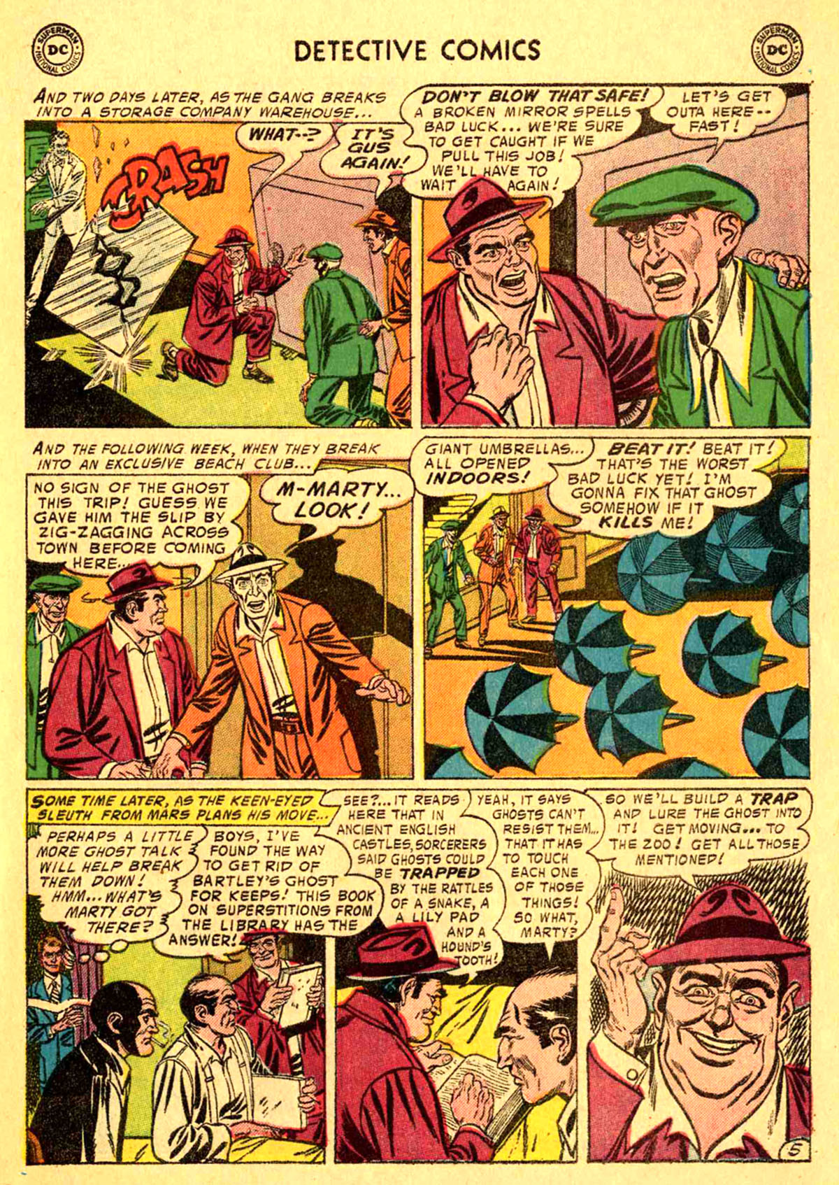 Read online Detective Comics (1937) comic -  Issue #233 - 31