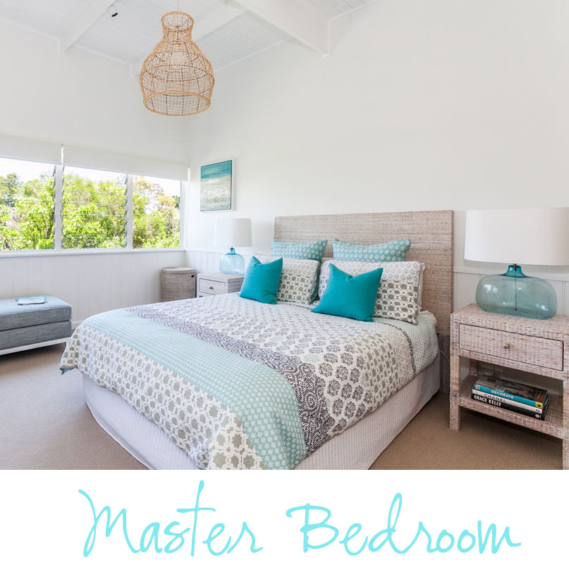Coastal Style My Beach House Master Bedroom