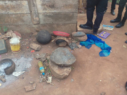 See The Suspected Badoo Chief Herbalist Arrested By SARS Today (Photos) 3