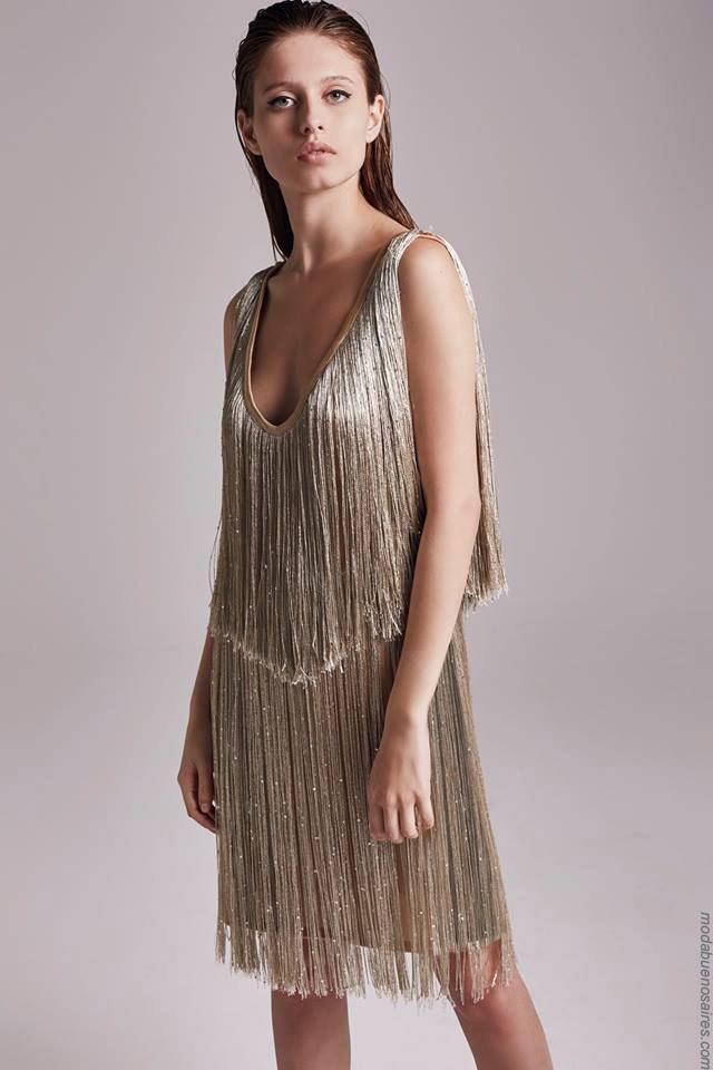Moda otoño invierno 2019 ropa de mujer elegante y femenina.Moda mujer invierno 2019.