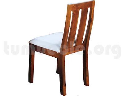 silla comedor tapizada 4184