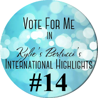 Kylie Bertucci International Highlights Vote Jay Soriano #14 Project Stampin Up