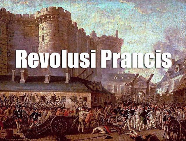 Gambar lampiran Sejarah terjadinya Revolusi Prancis