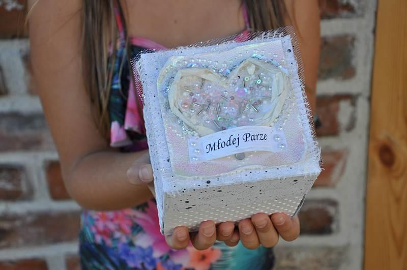 Z okazji ślubu Młodej Parze (exploding box)