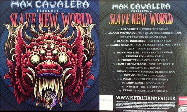 12 Band Metal Indonesia Masuk Kompilasi Metal Internasional Bertajuk 'Slave New World'