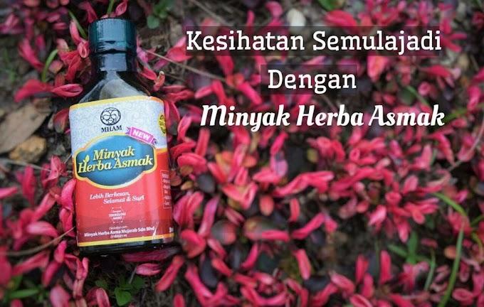 Minyak Herba Asmak produk MHAM penawar asma, batuk dan lelah yang berkesan