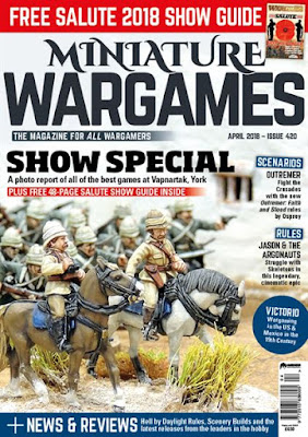 Miniature Wargames 420, April 2018