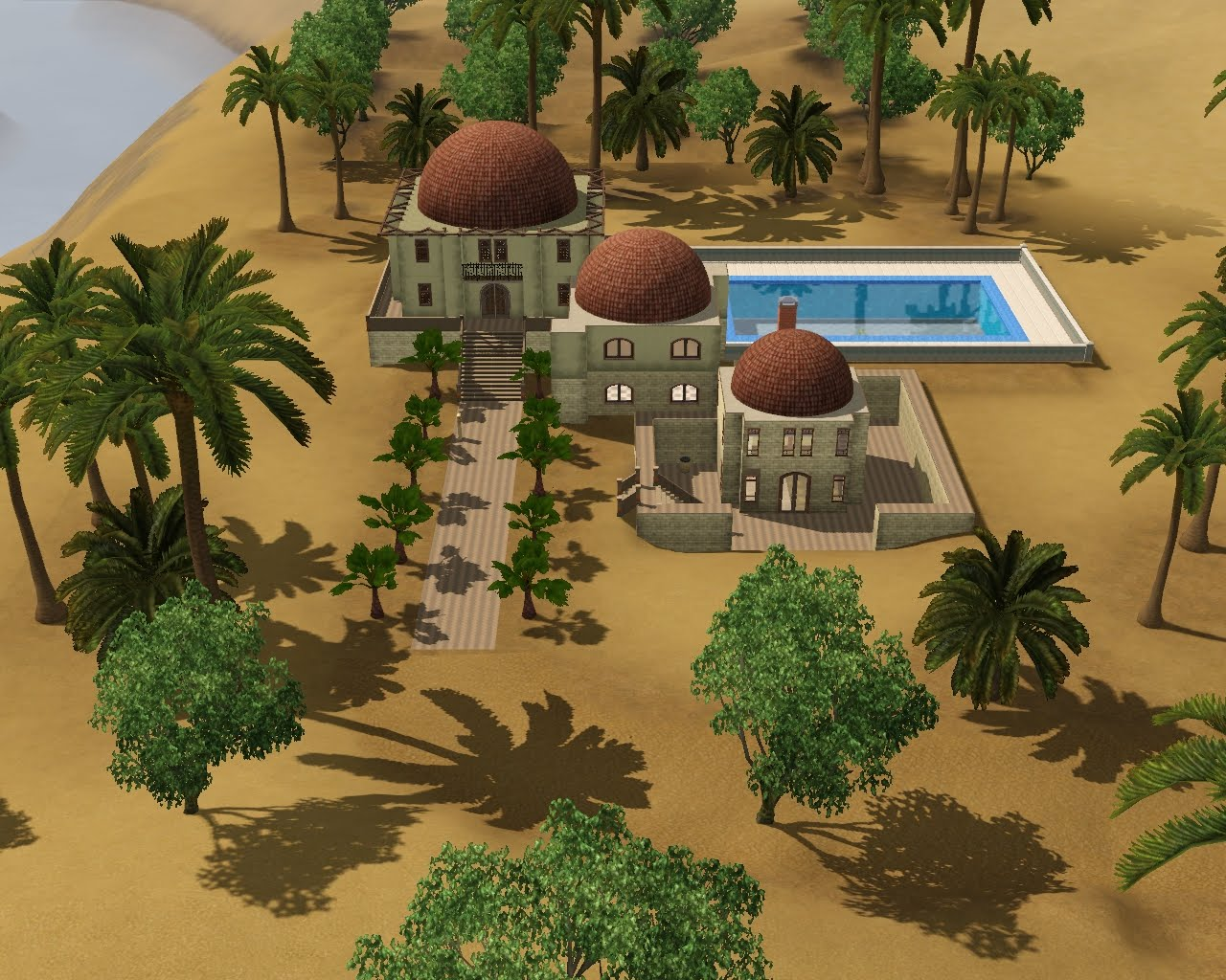 summer 39 s little sims 3 garden al simhara the sims 3. Black Bedroom Furniture Sets. Home Design Ideas