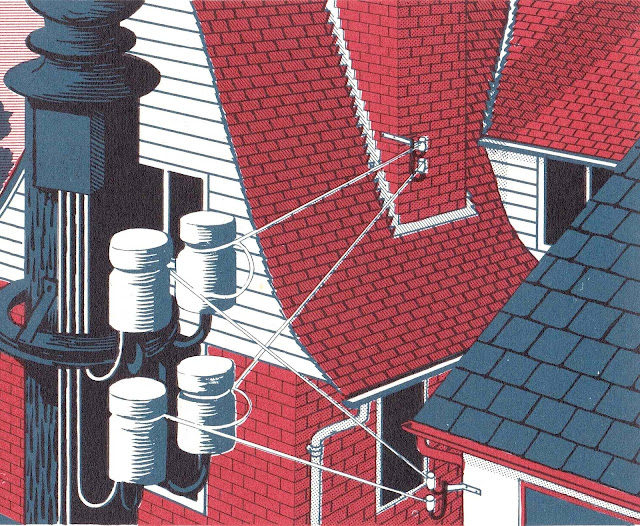 C.W. Bacon illustration of home electrity 1961