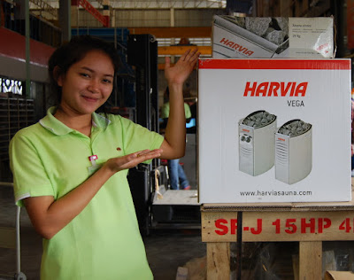 Buriram Sauna Heater Harvia Model