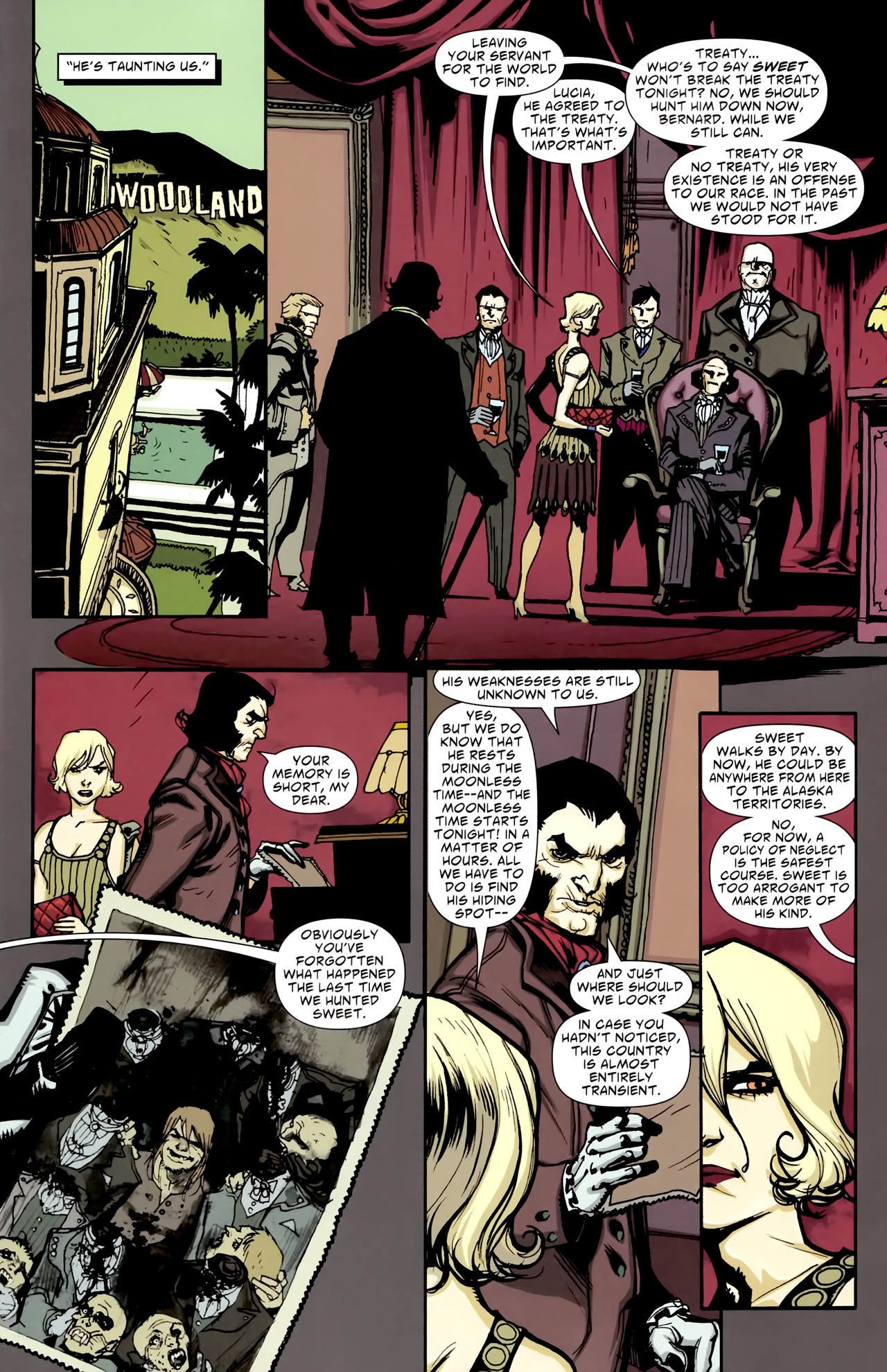 Read online American Vampire comic -  Issue #3 - 5