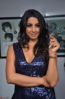 Sanjana looks happy in sparkling short Deep neck Purple Gown ~  Exclusive 31.JPG