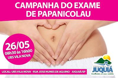 Secretaria da Saúde de Juquiá promove campanha para exame de Papanicolau na UBS Vila Nova