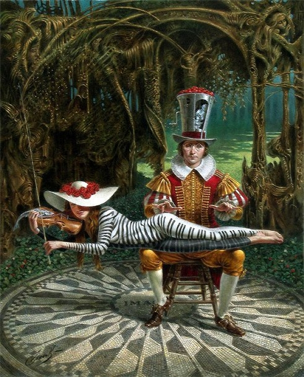 05-imagine-in-memory-of-john-lennon-Michael-Cheval-Surreal-Paintings-that-Draw-inspiration-from-The-East-and-West-www-designstack-co