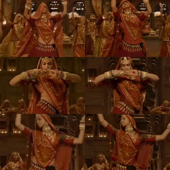 After Title Change,Deepika's 'Exposed' Midriff Gets Covered In The New Version Of Ghoomar Song. Watch Video