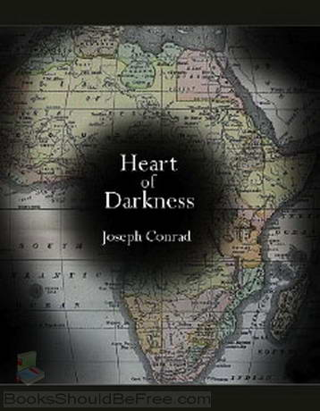 Heart of darkness and red heart