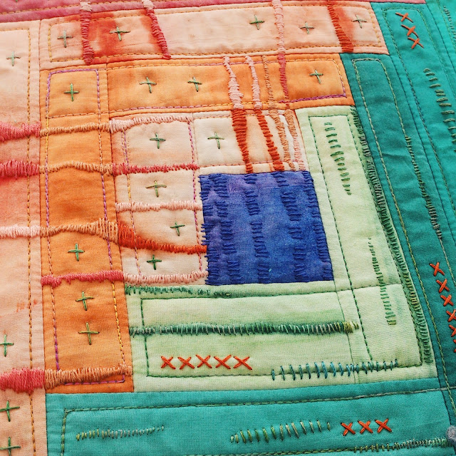 journal quilt Quilt Routes