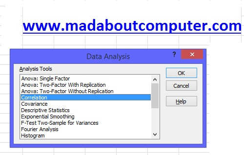 How to Load Analysis Toolpak in Excel 2010? ~ MAD ABOUT COMPUTER