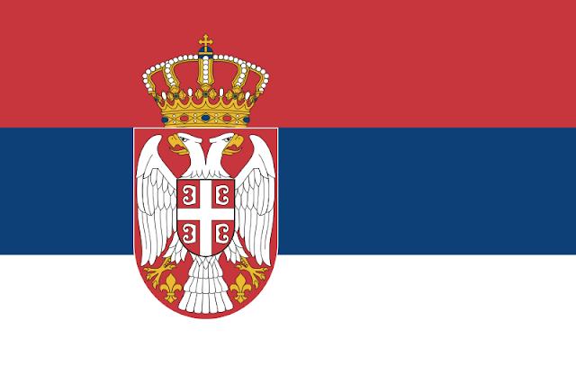 Bendera negara Serbia