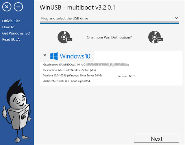 WinUSB 3.3.2.0 | Crear USB de instalación de Windows | Portable