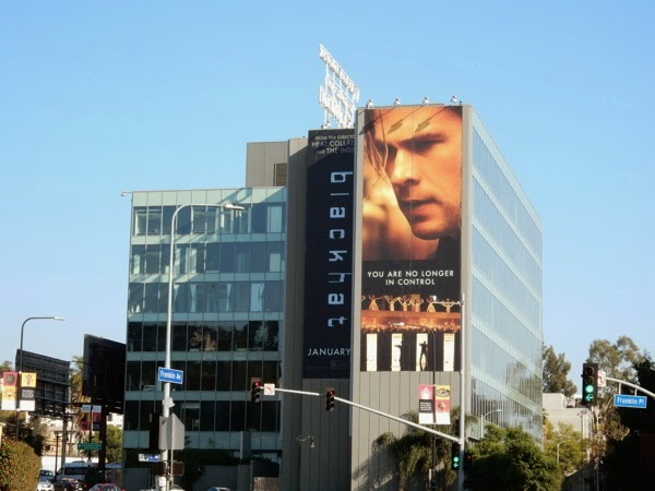 Daily Billboard: Blackhat movie billboards    Advertising for Movies
