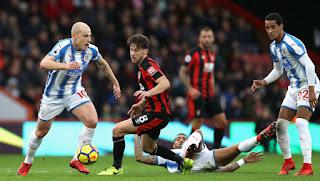 مشاهدة مباراة بورنموث وهيدرسفيلد بث مباشر   اليوم 04/12/2018  Bournemouth vs Huddersfield live