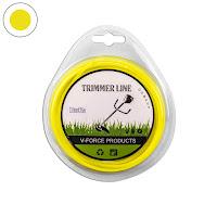 เอ็นตัดหญ้า แบบกลม 3.0 มิล 15 เมตร (สีเหลือง)