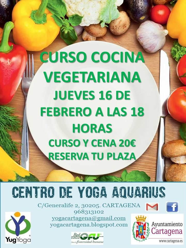 Centro de yoga aquarius - Curso de cocina vegetariana ...