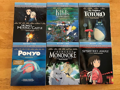 Studio Ghibli Blu-Ray Movies